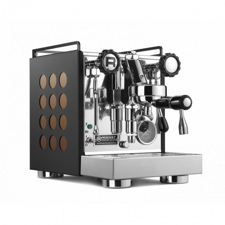 "Rocket Espresso Appartamento | ""Serie Nera"" Kupfer"