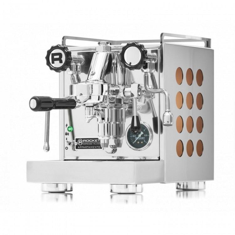 Rocket Espresso Appartamento   Kupfer   Austellungsmodel